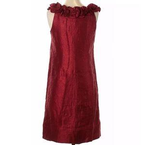 London Style Nights Size 10 Dark Red Dress Festive